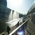 清渓川_噴水2