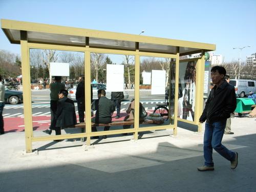 ソウルのバス_バス停