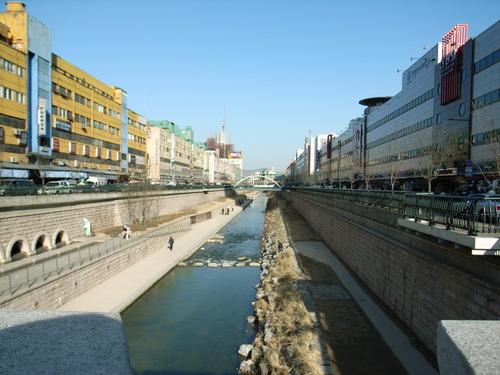 清渓川_遊歩道5